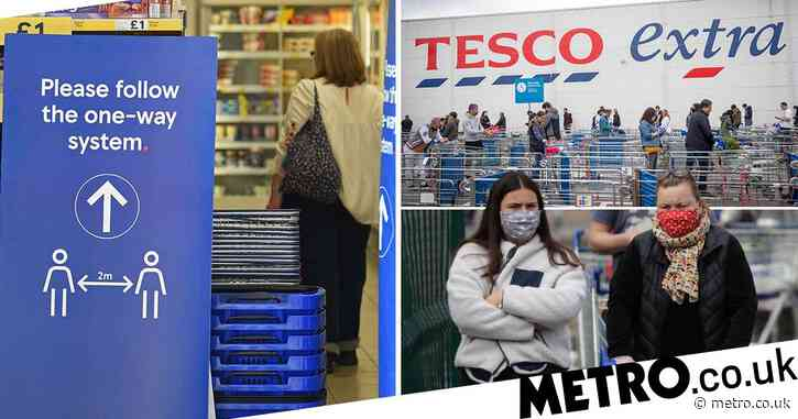 Supermarkets urge customers not to stockpile amid panic buying fears