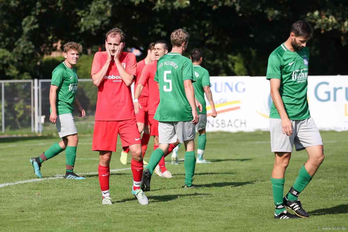 Fußball Kreisliga Allgäu Süd: FC Wiggensbach spielt 1:1 gegen den TSV Altusried - Wiggensbach - all-in.de - Das Allgäu Online!