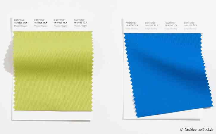 LFW: Pantone enthüllt Frühjahr/Sommer 2021 Farben