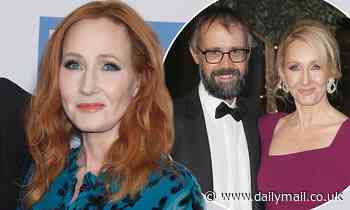 JK Rowling offers rare insight into her marriage to husband Neil Murray
