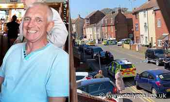 Pensioner, 68, collapsed and died of heart attack after 'bust-up with driver over parking'
