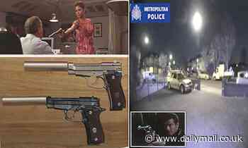 Moment James Bond gang spotted staking out 007 fan's home ahead of burglary in which guns stolen