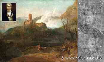 Two hidden portraits by JMW Turner are discovered underneath one of his landscapes