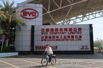 Ride-hailing firm Didi, BYD to launch co-designed electric vehicle
