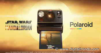 This Polaroid has Mandalorian 'armor' and Baby Yoda instant film