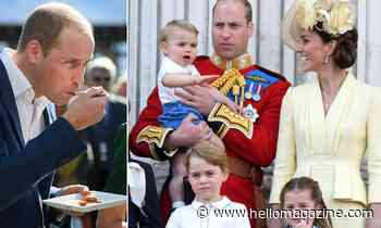 Prince George and Princess Charlotte won't be happy with Prince William's unusual food habits!