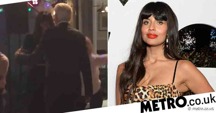 The Good Place's Jameela Jamil brushes off Emmy loss with 'favourite' Ted Danson video