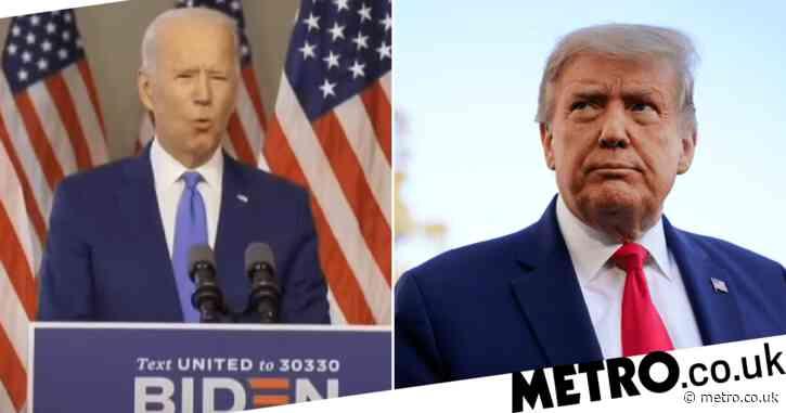 Presidential hopeful Joe Biden wrongly claims two thirds of US population has died of coronavirus