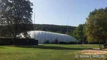 Das Friesdorfer Freibad in Bonn bekommt Traglufthalle aufgesetzt