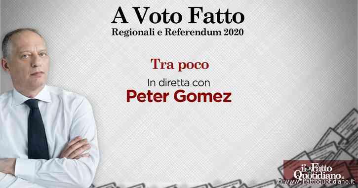 """Elezioni e referendum, tutti gli aggiornamenti con Peter Gomez, inviati e ospiti. Segui la diretta """"A voto Fatto"""""""
