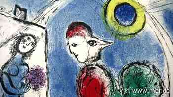 Tiere aus bunten Klecksen: Marc Chagalls Spätwerk im Kunsthaus Apolda - MDR