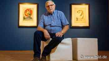 Apolda: Er holt die große Kunst ins kleine Apolda - BILD