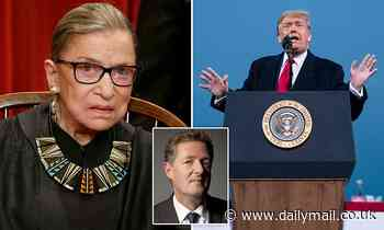 PIERS MORGAN:Squabble over replacing RBG has exposed BOTH sides as charlatans