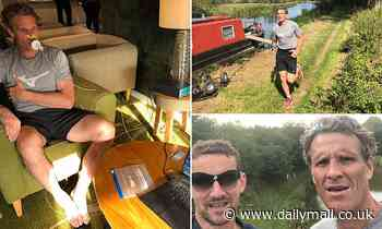 Olympic rower James Cracknell is running 100 miles in five days while only drinking water