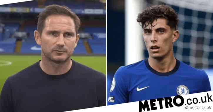 Frank Lampard defends Kai Havertz after Chelsea's defeat to Liverpool