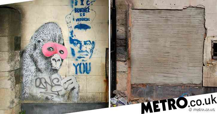 Famous Banksy work mysteriously disappears from home after almost 20 years