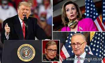 Ruth Bader Ginsburg: Trump claims Democrats wrote 'dying wish'