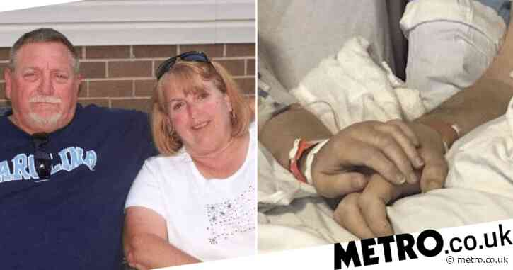 Moment soulmates married 50 years both died of coronavirus while holding hands