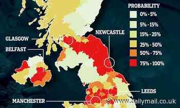 Coronavirus UK: Where will next hotspot be after NE England?