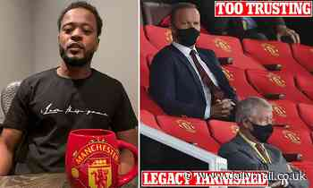 Patrice Evra launches stunning attack on old club Manchester United and Ed Woodward