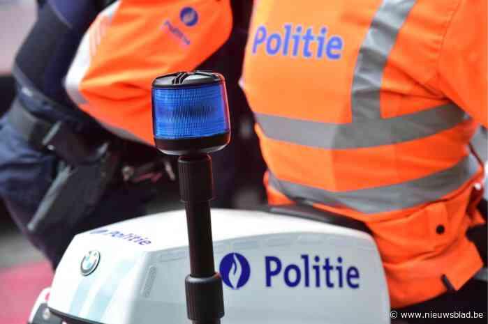 Motorrijder rijdt weg van politiecontrole in Hasselt