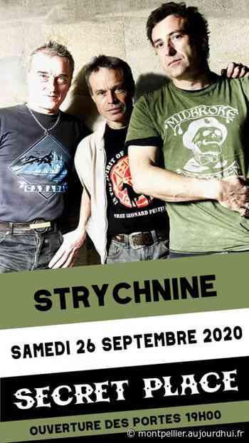 STRYCHNINE - Secret Place , Saint Jean De Vedas, 34430 - Sortir à Montpellier - Le Parisien Etudiant