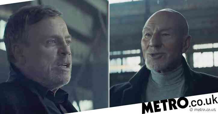 Star Wars' Mark Hamill and Star Trek's Sir Patrick Stewart row over tomatoes in UberEats ad