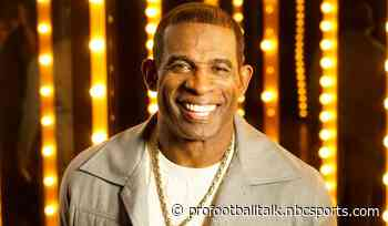 Deion Sanders becomes the coach at Jackson State University