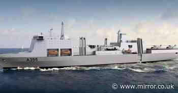Tories finally accept Navy supply ships are warships - boosting hopes of UK deal