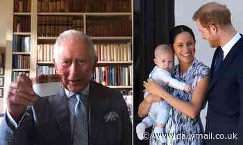 Baby Archie 'delighted' Prince Charles by calling him 'pa' on Zoom call for Prince Harry's birthday