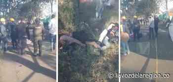 Accidente cobró la vida de una persona en Tarqui - lavozdelaregion.co