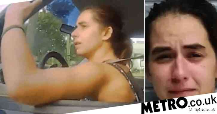 Woman pulled over by police said: 'I have to poop so bad!' – then sped off