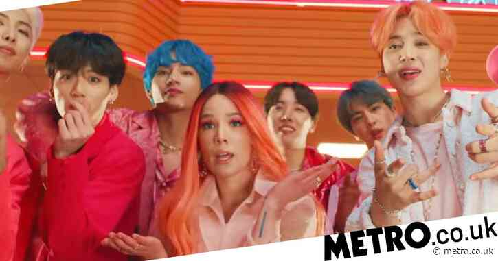 BTS smash YouTube record with Boy With Luv music video as it surpasses 950m views