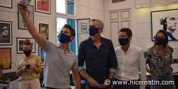 """Ninja Warrior sans Cannes, c'est pas Ninja Warrior"": les animateurs de l'émission de TF1 reçus par David Lisnard."