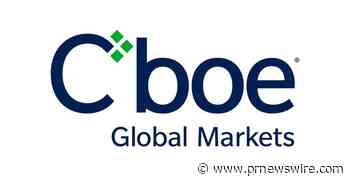 Cboe Global Markets Announces Date of Third-Quarter 2020 Earnings Release and Conference Call