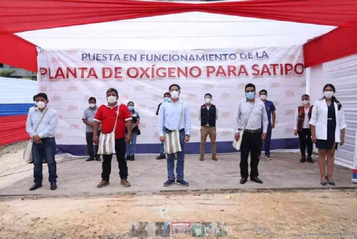 Se instala primera planta de oxígeno medicinal en Satipo - Radio Nacional del Perú