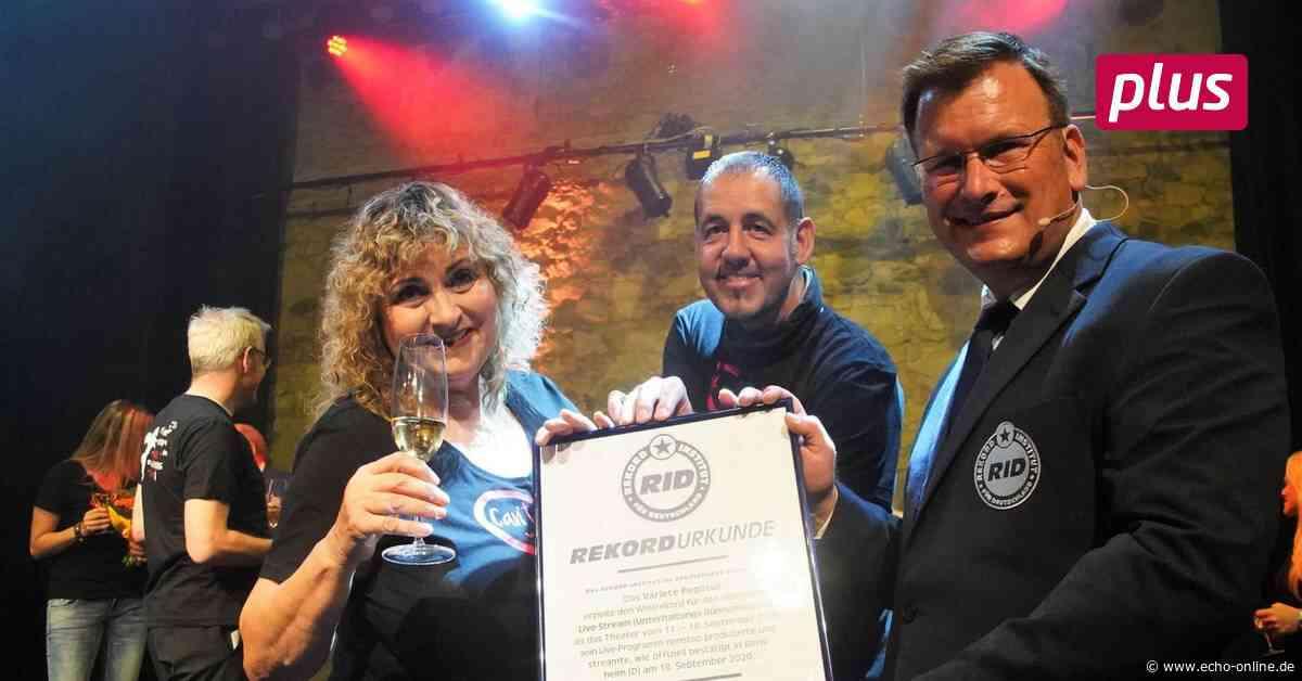 Weltrekord in Bensheim - Echo Online