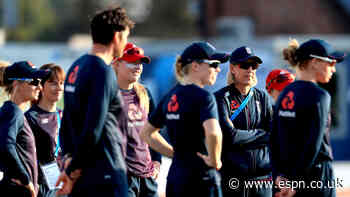 England win toss and bat, Beaumont opens with Wyatt