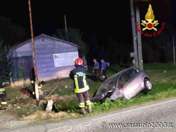 Auto esce di strada a Molinella, si ribalta e finisce nel fosso laterale: un ferito - sassuolo2000.it - SASSUOLO NOTIZIE - SASSUOLO 2000