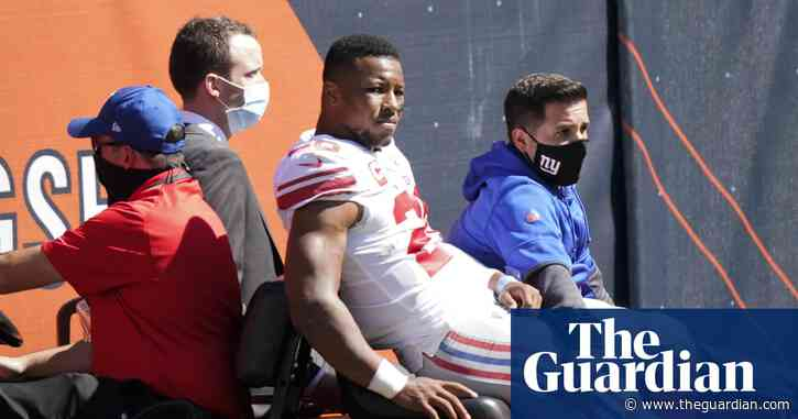 Huge blow for Giants as tests confirm Saquon Barkley likely to miss season