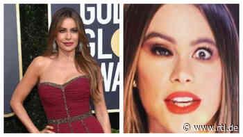 """""""Modern Family""""-Star Sofía Vergara total entstellt: Was ist denn hier passiert? - RTL Online"""