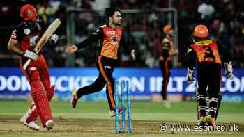 Live Report: Sunrisers meltdown takes RCB to edge of victory