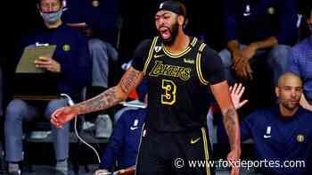 NBA: ¡Una ceja salvadora aumentó la ventaja de los Lakers! - Fox Deportes