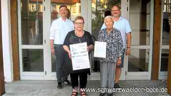 Hechingen: Anneliese Schmidt ist eine ganz treue Seele - Hechingen - Schwarzwälder Bote