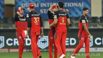 Chahal three-for, Sunrisers collapse hand RCB  win