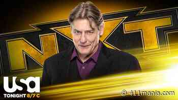 William Regal to Deliver Two Major Announcements on Tonight's NXT - 411mania.com