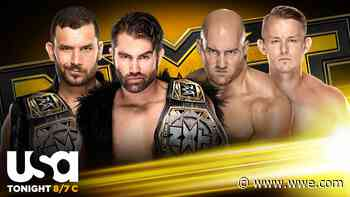 Breezango defend the NXT Tag Team Championship against Imperium - WWE