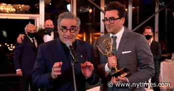Canadians Rejoice as 'Schitt's Creek' Sweeps 2020 Emmy Awards