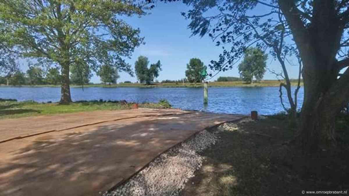 Boeren kunnen de Maas bij Grave weer oversteken met veerpont - Omroep Brabant