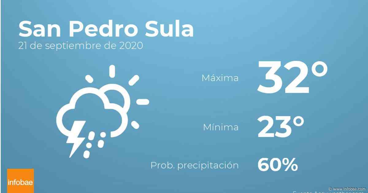 Previsión meteorológica: El tiempo hoy en San Pedro Sula, 21 de septiembre - Infobae.com
